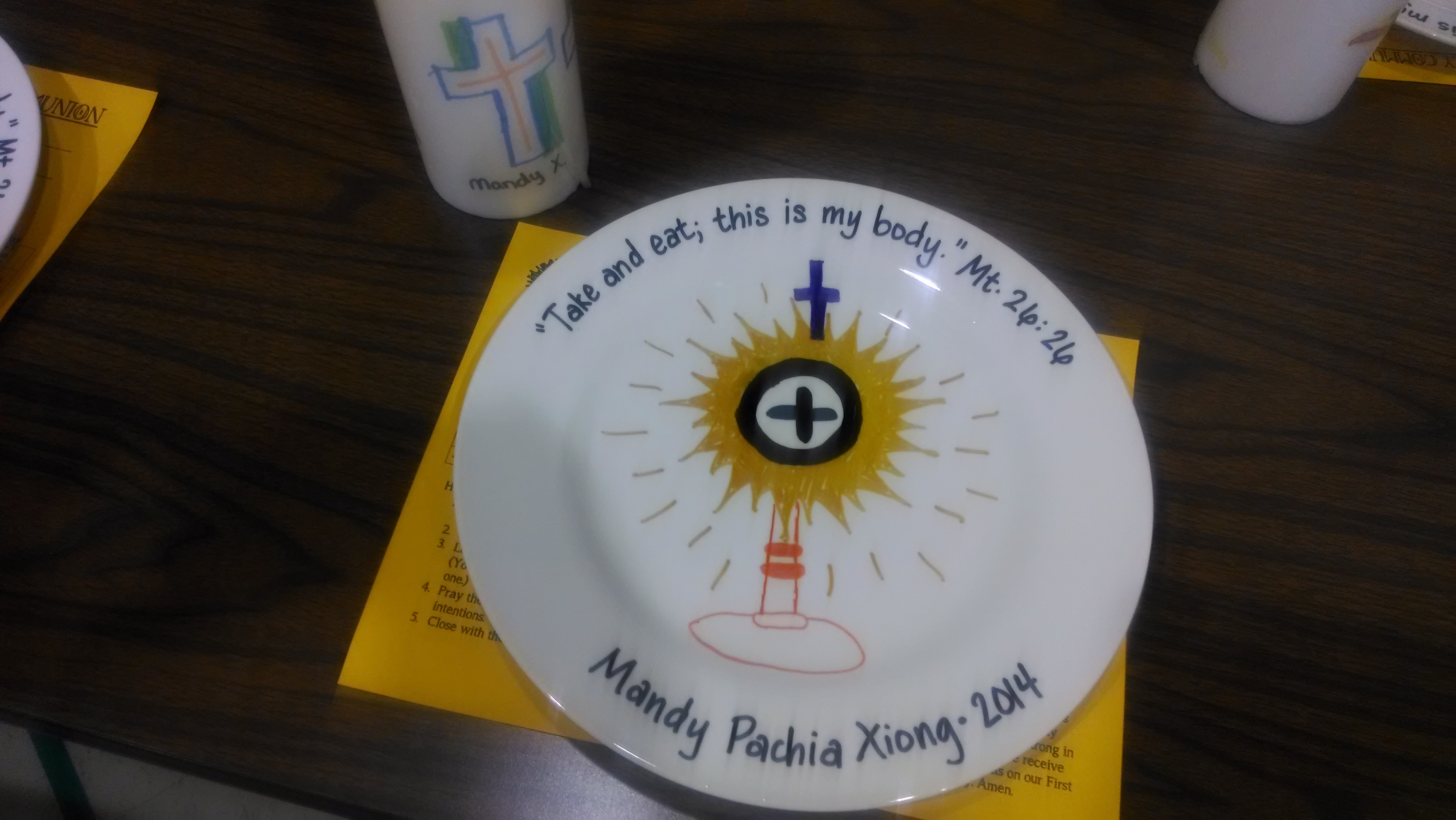 The catholic toolbox first communion activities for First communion craft ideas